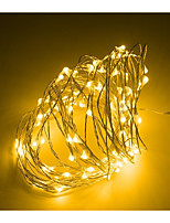 cheap -2pcs Mini LED String light 3M Silver Wire Fairy Lights for Garland Home Christmas Wedding Party Decoration Powered by CR2032 Battery