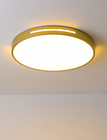 cheap -2-Light 40 cm Dimmable Flush Mount Lights Metal Acrylic Basic Electroplated / Painted Finishes LED / Nordic Style 110-120V / 220-240V