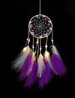 cheap -Home Decoration Dream Catcher Feathers Shell Ornaments Birthday Graduation Gift Wall Hanging Decor