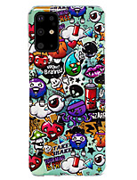 cheap -Case For Samsung Galaxy S9 / S9 Plus / Galaxy A7(2018) Glow in the Dark / Pattern Back Cover Animal / Cartoon TPU
