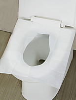 cheap -10Packs 100Pcs Disposable Toilet Seat Cover Toilet Paper Mat For Travel Outdoors Camping Bathroom Accessories Toilet Tools