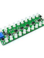 cheap -LED Indicator For Sound Control Induction Amplifier Frequency Spectrum Audio Level Meter