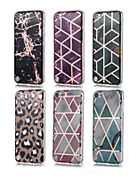 cheap -Case For iTouch 5/6 Plating / Pattern Back Cover Soft