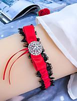cheap -Chinlon / Elastane / Lace Wedding Wedding Garter With Crystals / Rhinestones Garters Wedding / Festival