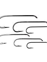 cheap -20 pcs Worm Hooks Fishing Hooks Thin Hang-Nail Sea Fishing / Fly Fishing / Freshwater Fishing Carbon Steel