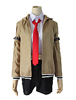 cheap -Inspired by Steins;Gate Makise Kurisu Anime Cosplay Costumes Japanese Cosplay Suits Coat Sleeves For Women's