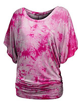 cheap -Women's Daily T-shirt - Geometric Black