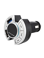 cheap -BT17 Bluetooth 5.0 Car Adapter (Upgraded Version) Bluetooth FM Transmitter Car Radio Hands-Free Calling MP3 Car Charger with 2 USB Ports Mp3 Music Stereo for All Smartphones