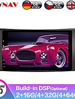 cheap -ZWNAV 8inch 2din 4GB 64GB DSP Android 9.0 Car MP5 Player GPS navigation car Multimedia Player radio tape recorder For Benz W211/W219/W463 2002-2009