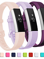 cheap -Watch Band for Fitbit Alta HR / Fitbit Alta Fitbit Classic Buckle Silicone Wrist Strap