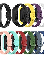 cheap -Watch Band for Galaxy fit e R375 Samsung Galaxy Modern Buckle Silicone Wrist Strap