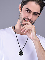 cheap -Men's Women's Pendant Necklace Necklace Charm Necklace Classic Vintage Fashion Titanium Steel Black Gold Silver 55+5 cm Necklace Jewelry 1pc For Halloween Prom Street Birthday Party Festival