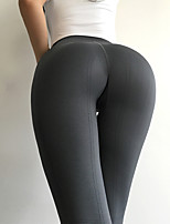 cheap -Women's Yoga Pants Winter Solid Color Black Dark Navy Gray Running Fitness Gym Workout Bottoms Sport Activewear Breathable Soft Butt Lift Stretchy