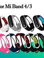 cheap -Fashion Soft Mi Band 3 4 Strap wrist strap for Xiaomi mi band 3 4 Silicone Miband 3 4 accessories pulsera correa Mi 3 replacement