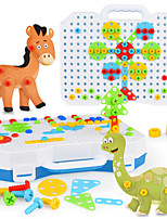 cheap -Construction Set Toys 130 pcs Dinosaur compatible Legoing Electronic Boys and Girls Toy Gift / Kid's