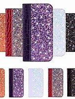 cheap -Case For Samsung Galaxy S9 / S9 Plus / S8 Plus Card Holder / with Stand / Flip Full Body Cases Tile PU Leather For Galaxy S8/S10/S10 Plus/S10 5G/S10E/Note 9/Note 10 Plus/Note 10