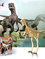 cheap -3D Puzzle Dinosaur Fossil Dinosaur Figure Dinosaur Animals Cute Parent-Child Interaction Plastic Kid's Child's All Toy Gift