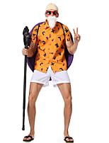 Недорогие -Вдохновлен Жемчуг дракона Куки-аниме Аниме Косплэй костюмы Японский Косплей Костюмы Кофты Брюки Очки Назначение Муж. / Головные уборы / защитный футляр