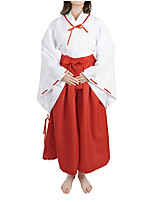 cheap -Inspired by InuYasha Kikyo Anime Cosplay Costumes Japanese Cosplay Suits Costume For Women's