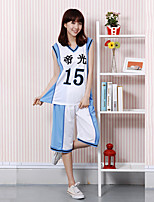 cheap -Inspired by Kuroko no Basket Tetsuya Kuroko Anime Cosplay Costumes Japanese Outfits Shorts T-shirt For Men's Women's