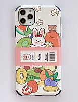 cheap -Case For Apple iPhone 11 / iPhone 11 Pro / iPhone 11 Pro Max Pattern Back Cover Cartoon PC