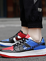cheap -Unisex Light Soles Rubber Spring & Summer / Fall & Winter Classic Sneakers Track & Field Shoes / Walking Shoes Waterproof Navy Blue