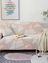 Недорогие -геометрический треугольник с принтом пылезащитный всесильный чехлы на диван эластичный чехол для дивана супер мягкая ткань чехол с одной бесплатной наволочкой