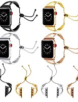 cheap -Watch Band for Apple Watch Series 5 / Apple Watch Series 4 / Apple Watch Series 3 Apple Jewelry Design Stainless Steel Wrist Strap