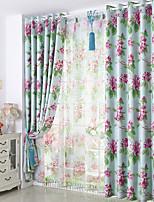 cheap -Gyrohome 1PC GYC2065 Flowers Shading High Blackout Curtain Drape Window Home Balcony Dec Children Door *Customizable* Living Room Bedroom Dining Room