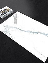 cheap -Self-adhesive Marble Floor Tile Wall Sticker PVC Oil-proof Waterproof for Home Living Room Bedroom Kitchen Bathroom 60*90cm