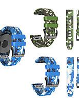cheap -Camouflage Watch Band for Fenix 5x / Fenix 5x Plus / Fenix 3 HR Garmin Modern Buckle Silicone Wrist Strap