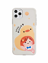 cheap -Case For Apple iPhone 11 / iPhone 11 Pro / iPhone 11 Pro Max Shockproof / Ultra-thin / Frosted Back Cover Animal / Cartoon PC
