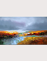 cheap -Abstract Handmade Colorful Oil Painting on Canvas Modern Wall Art for Home Decor