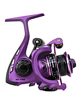 cheap -Fishing Reel Spinning Reel 5.5:1 Gear Ratio+6 Ball Bearings Hand Orientation Exchangable Bait Casting / Freshwater Fishing