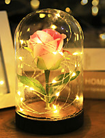 cheap -Oval Shape Ambinet Light LED Night Light Christmas Wedding Decoration / Atmosphere Lamp / Romantic Mode Switching Valentine's Day / Christmas AAA Batteries Powered 1pc