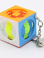 cheap -Magic Cube IQ Cube Zcube Mini 3*3*3 Smooth Speed Cube Magic Cube Puzzle Cube Key Chain Easy to Carry Cage Ball Adults Kids Toy All Gift