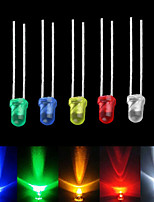 cheap -Lot 3mm White Green Red Blue Yellow LED Light Bulb Emitting Diode  100PCS