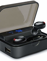 cheap -CARKIRA CS590 TWS True Wireless Earbuds Wireless Bluetooth 5.0 Dual Drivers with Microphone with Charging Box IPX5 Auto Pairing for Mobile Phone