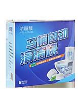 cheap -Automatic Toilet Bowl Cleaner Tablets Rain Clean 6 Count 120gram. Blue Non Sent Sanitary/Deordorizes