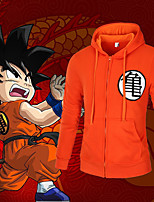 cheap -Inspired by Dragon Ball Cosplay Anime Cosplay Costumes Japanese Cosplay Hoodies Top For Men's