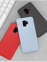 cheap -Case For Samsung Galaxy Note 10 / Note 9 / S10 / S9 / S10 Plus / S9 Plus Shockproof / Ultra-thin / Frosted Back Cover Solid Colored PC
