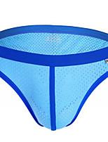 cheap -Men's Basic Briefs Underwear - Normal Low Waist Purple Army Green Yellow S M L