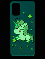 cheap -Case For Samsung Galaxy S20 / S20 Ultra / Glow in the Dark / Pattern Back Cover Animal TPU for Galaxy A10 A20 A30 A30S A40 A50 A50S A60 A70 A80 A90 M10 M20 NOTE9 NOTE10 NOTE10 PRO