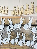 cheap -Banner & Runner Wood 1 Piece Easter