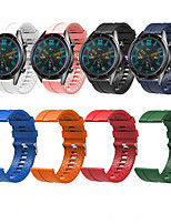 cheap -Watch Band for Huawei Watch GT / Huawei Watch 2 Pro / Honor Magic Huawei Sport Band Silicone Wrist Strap