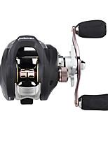 cheap -Fishing Reel Baitcasting Reel 7.2:1 Gear Ratio+11 Ball Bearings Right-handed / Left-handed Sea Fishing / Freshwater Fishing / Carp Fishing