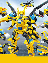 cheap -Building Blocks 1 pcs Robot Creative Construction Vehicle compatible Legoing DIY Parent-Child Interaction All Toy Gift