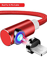 cheap -TOPK 1M  Magnetic Micro USB Cable for iPhone  USB  Magnetic Charging Cable USB C Mobile Phone Cables
