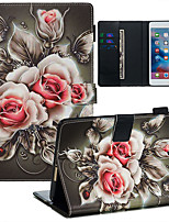 cheap -Case For Apple iPad Mini 3/2/1 / iPad Mini 4 / iPad Mini 5 Dustproof / with Stand / Flip Back Cover sky PU Leather