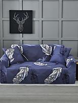 Недорогие -фиолетовые листья принт пылезащитный всесильный чехлы на диван эластичный чехол для дивана супер мягкая ткань чехол с одной бесплатной наволочкой